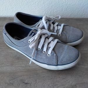 Keds Sneakers 7 M Gray Laces Shoes